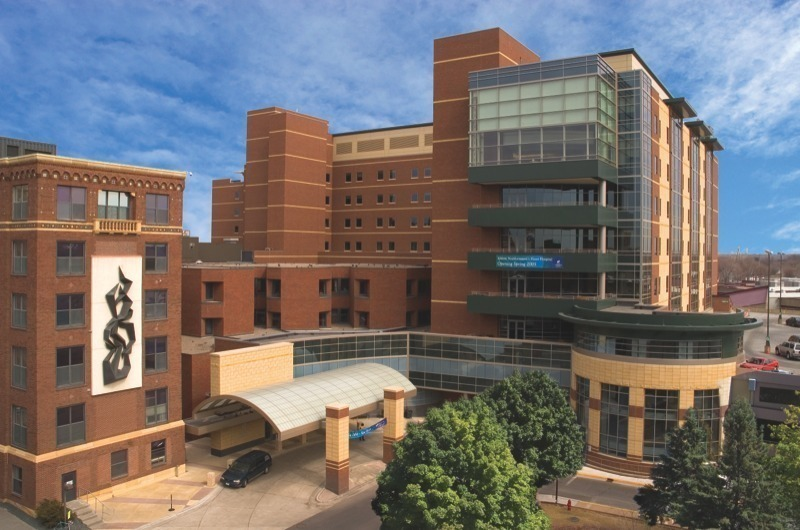 The largest medical center in the Twin Cities